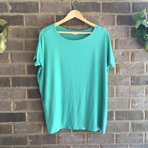 Piko 1988 Green Perfect Piko 3/4 Sleeve Top